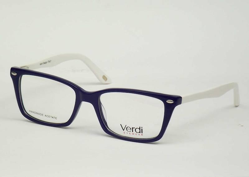 Oprawa okularowa VD1531 C03 Verdi - niebies/biały