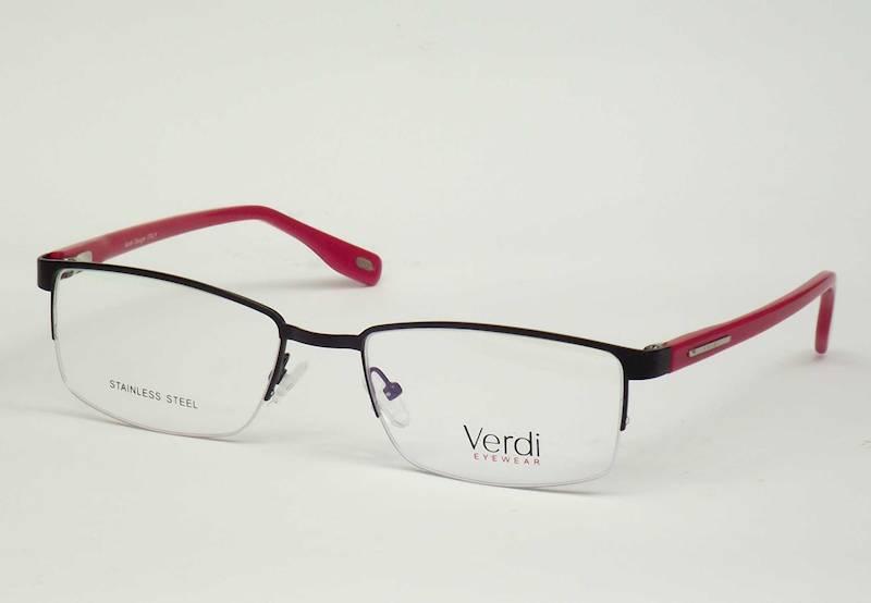 Oprawa okularowa VD1534 C01 Verdi - czarny/czerwo