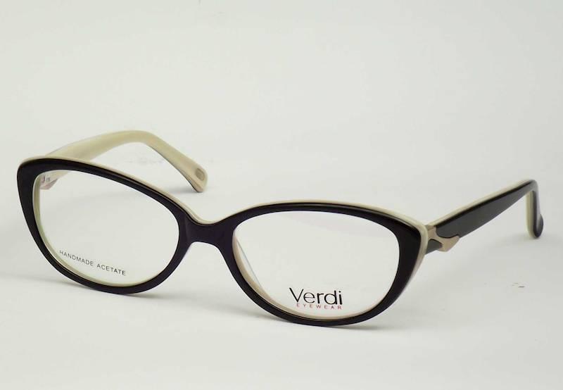 Oprawa okularowa VD1529 C01 Verdi - czarny/beż