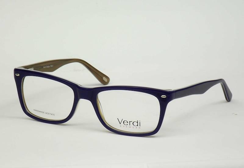 Oprawa okularowa VD1175 C05 Verdi - granat/brąz