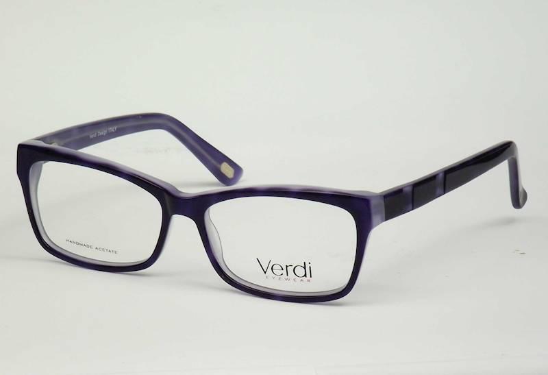 Oprawa okularowa VD1612 C03 Verdi - granat/niebies
