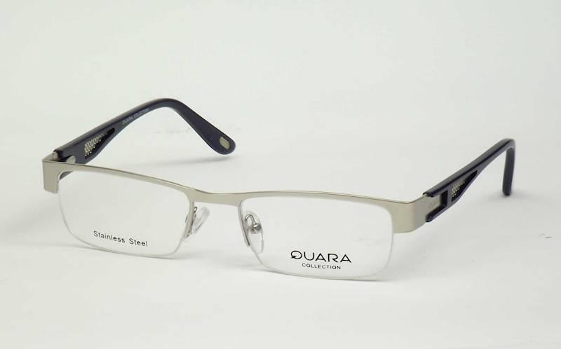 Oprawa okularowa QR1035 C03 Quara - srebrny/granat
