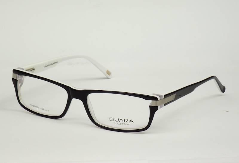Oprawa okularowa QR1033 C05 Quara - czarny/biały