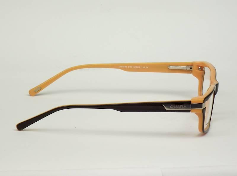 Oprawa okularowa QR1033 C08 Quara - brąz/pomarańcz