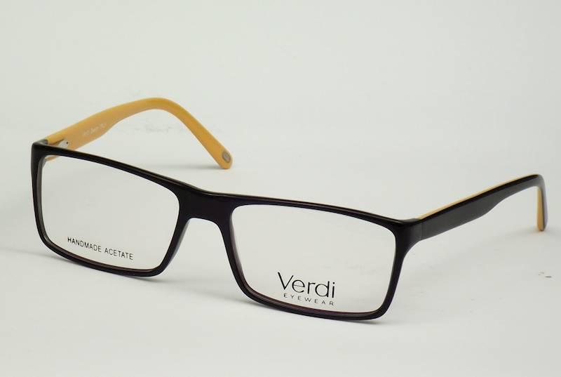 Oprawa okularowa VD1231 C03 Verdi - czarny/pomarań