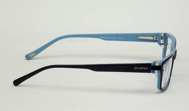 Oprawa okularowa QR1033 C06 Quara - granat/niebies
