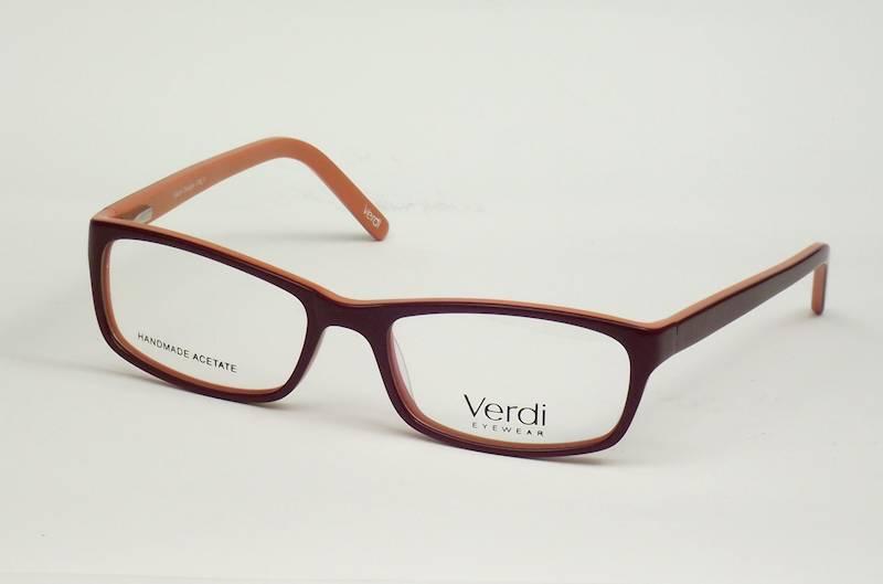 Oprawa okularowa VD1230 C03 Verdi - fiolet/pomarań