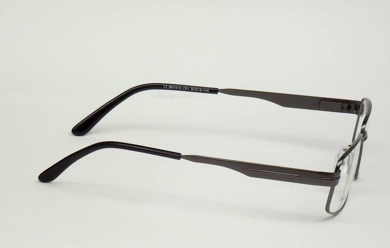 Oprawa okularowa BN1014 C01 Biano - gun/czarny
