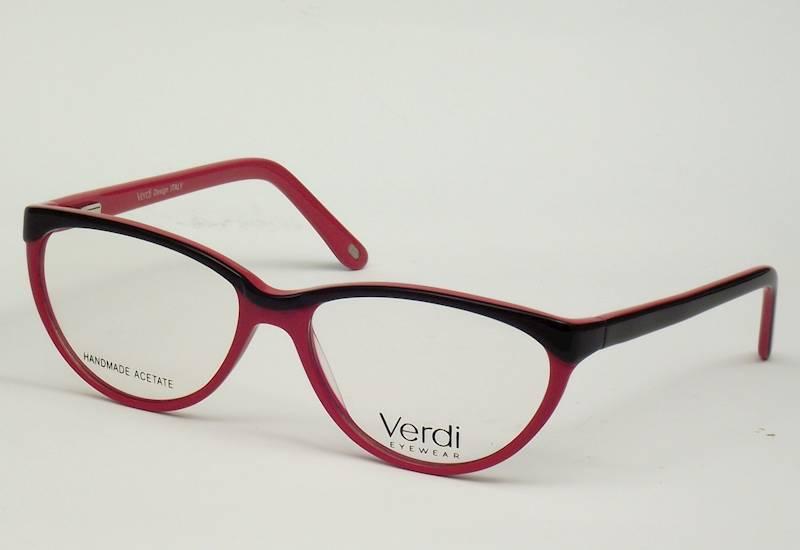 Oprawa okularowa VD1233 C02 Verdi - czarny/czerwon