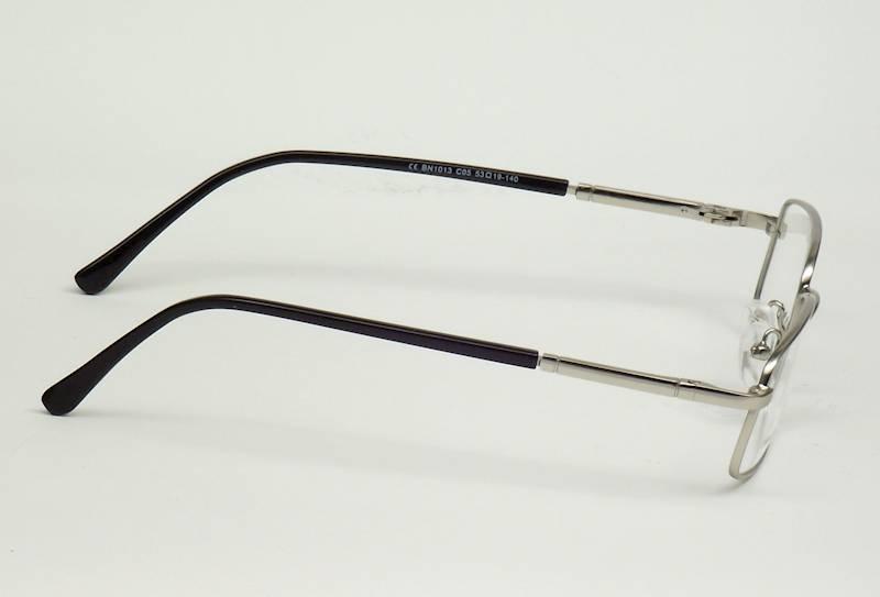 Oprawa okularowa BN1013 C05 Biano - srebro/czarny