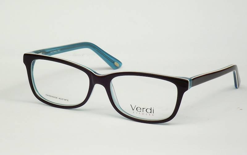 Oprawa okularowa VD1194 C03 Verdi - czarny/niebies
