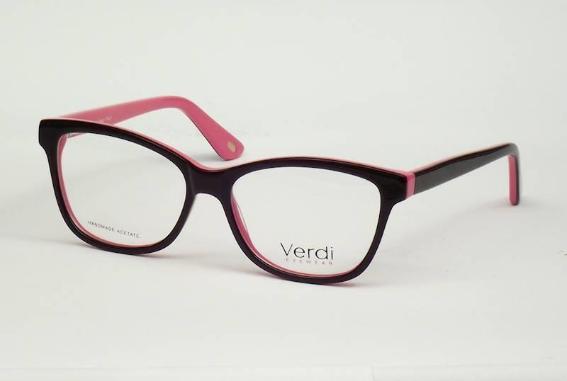Oprawa okularowa VD1188 C04 Verdi - czarny/różowy