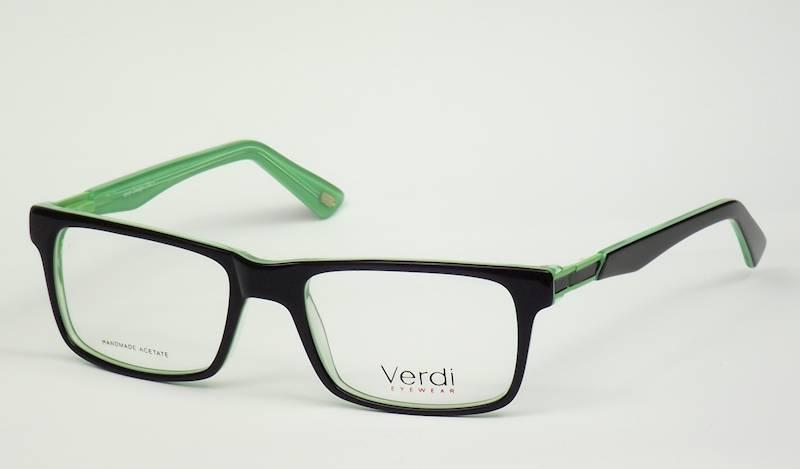 Oprawa okularowa VD1616 C01 Verdi - czarny/zielony