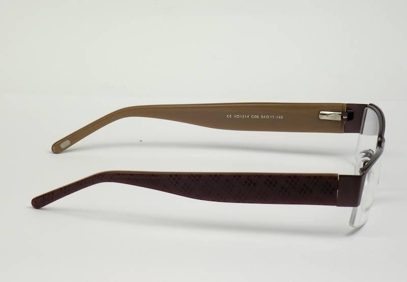 Oprawa okularowa VD1214 C06 Verdi - brązowy