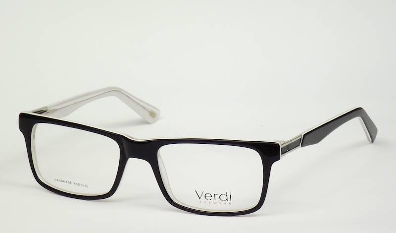 Oprawa okularowa VD1616 C04 Verdi - czarny/biały