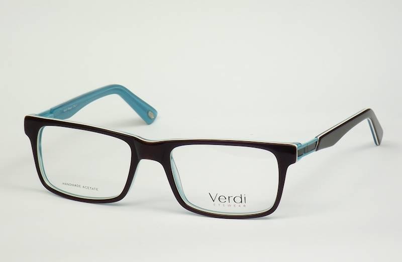 Oprawa okularowa VD1616 C02 Verdi - czarny/niebies