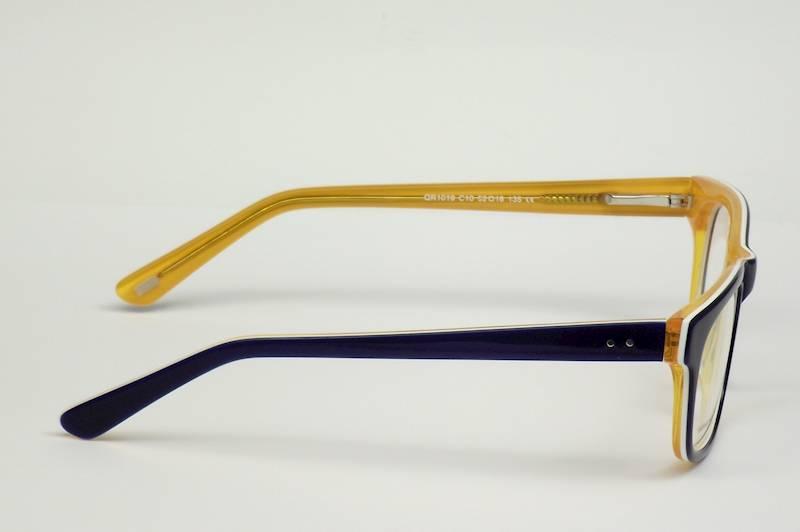Oprawa okularowa QR1019 C10 Quara - niebie/pomarań