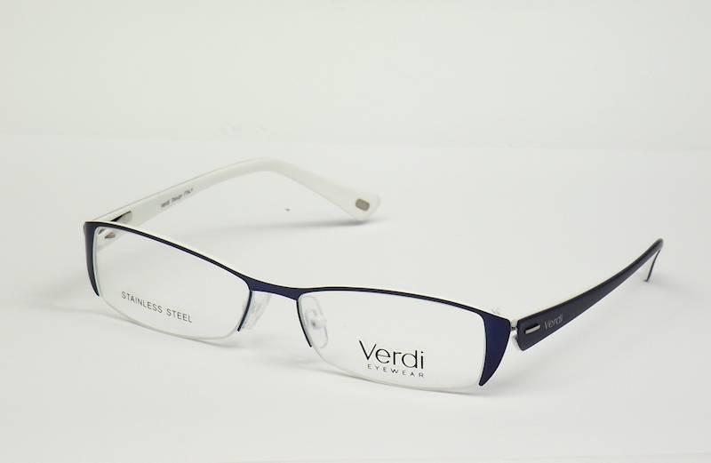 Oprawa okularowa VD1232 C02 Verdi - granat/biały
