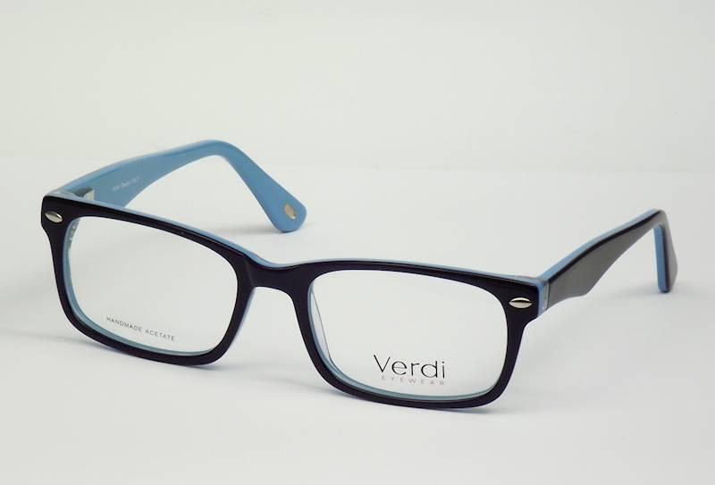 Oprawa okularowa VD1609 C02 Verdi - granat/niebies