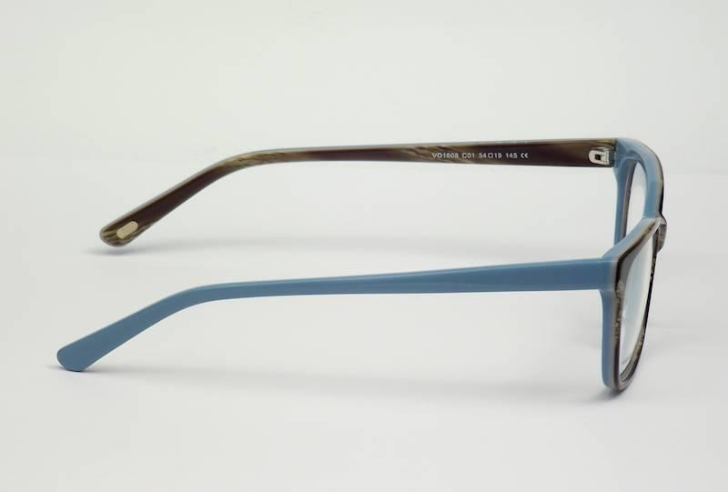 Oprawa okularowa VD1608 C01 Verdi - brąz/niebieski