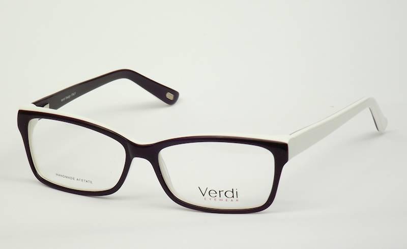 Oprawa okularowa VD1620 C02 Verdi - fiolet/biały