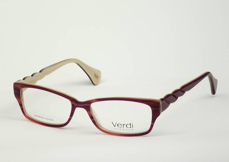 Oprawa okularowa VD1621 C02 Verdi - czerw/beż