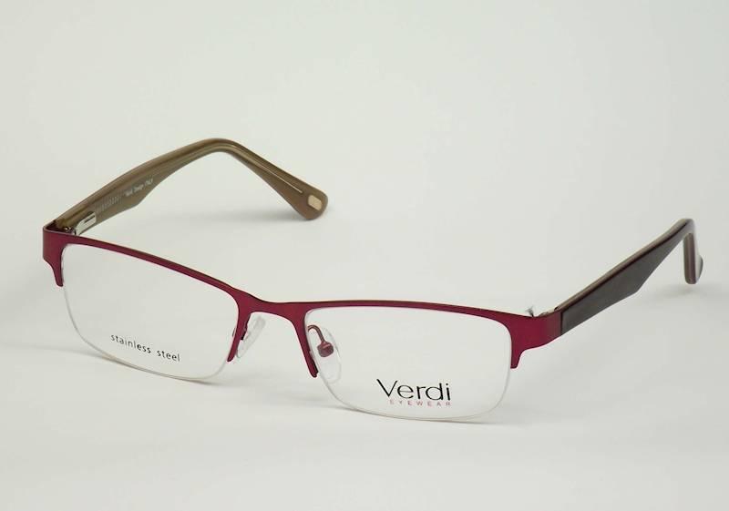 Oprawa okularowa VD1627 C04 Verdi -  czerwony