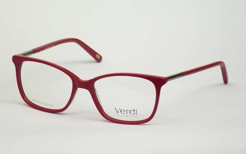 Oprawa okularowa VD1631C03 Verdi - czerwony