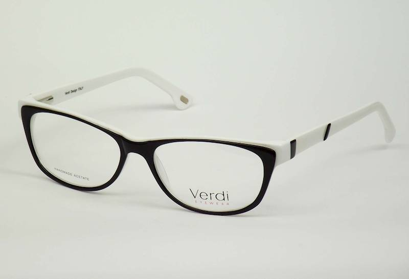 Oprawa okularowa VD1621 C01/1 Verdi - czar/biały