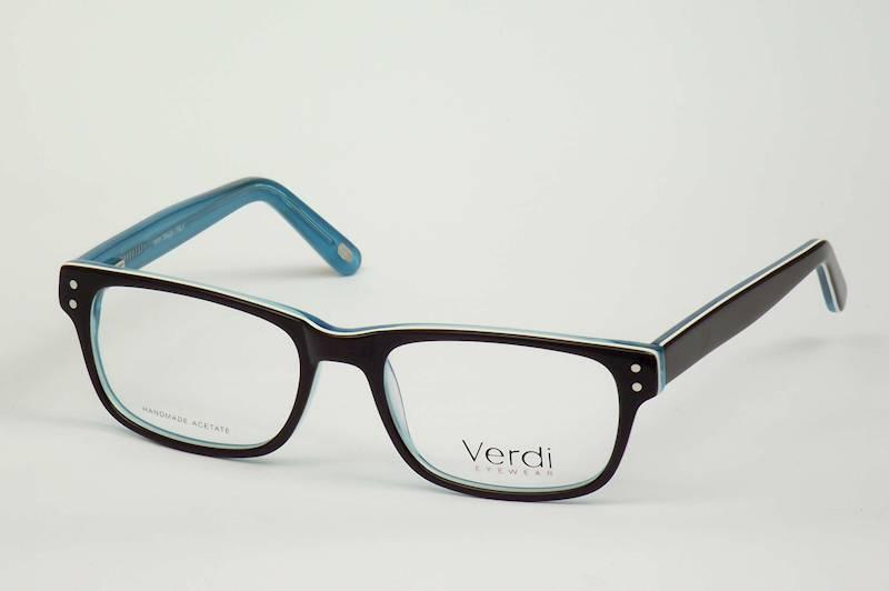 Oprawa okularowa VD1633C05 Verdi - brąz/turkus