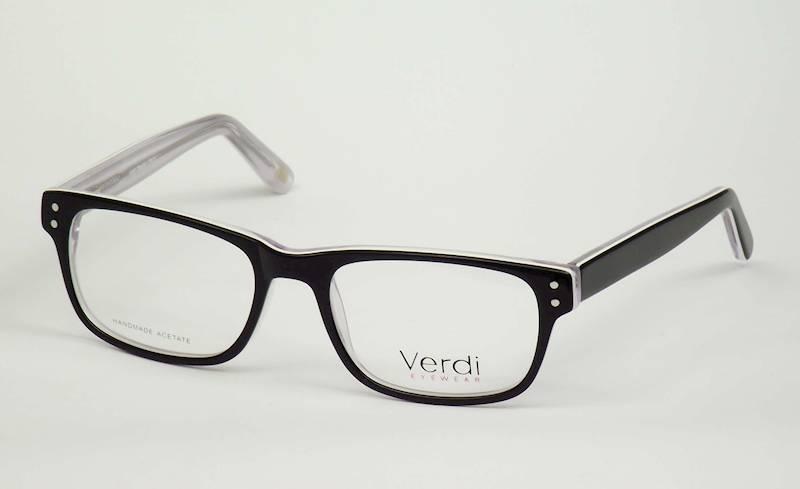 Oprawa okularowa VD1633C03 Verdi - czar/biał