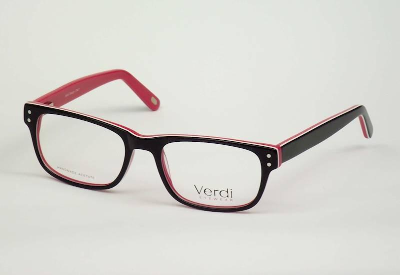 Oprawa okularowa VD1633C02 Verdi - czarny/czerw
