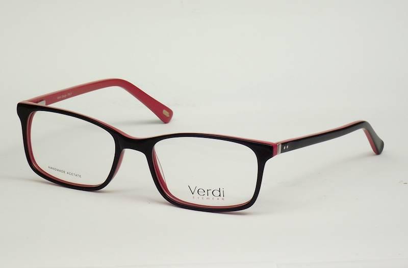 Oprawa okularowa VD1637 C03 Verdi - czarny/czerwon
