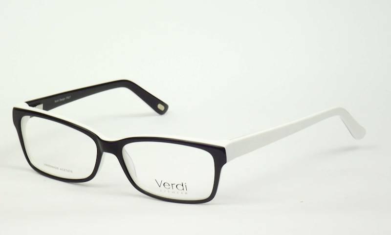 Oprawa okularowa VD1635 C01 Verdi - czar/biały