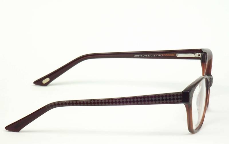 Oprawa okularowa VD1640C03 Verdi - brąz