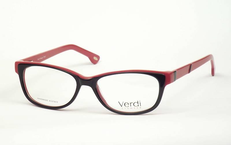 Oprawa okularowa VD1628 C06 Verdi - czar/czerwo