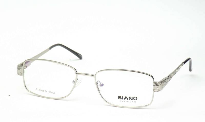 Oprawa okularowa BN1222 C02 Biano - srebrny