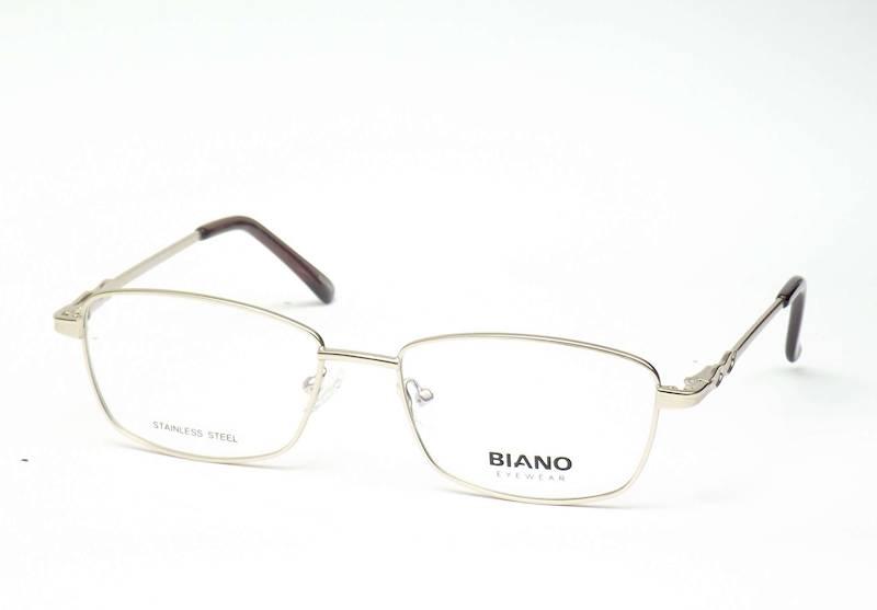 Oprawa okularowa BN1226 C03 Biano - złoty