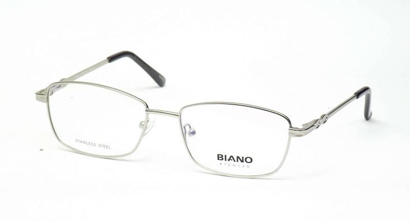 Oprawa okularowa BN1226 C01 Biano - srebrny
