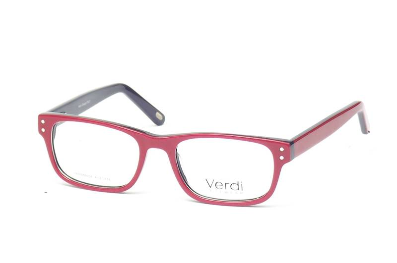 Oprawa okularowa VD1633C09 Verdi - czerw/granat