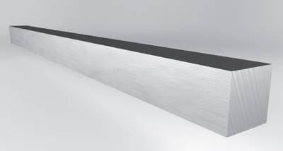 Pręt kwadratowy 100x100  1 S355J2