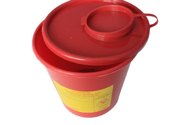 Pojemnik na odpady medyczne 2 L