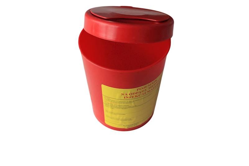 Pojemnik na odpady medyczne 0,7 L