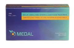 Torebki do sterylizacji MEDAL 90x135 op.200 szt.