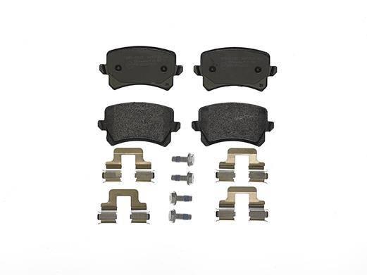 klocki hamulcowe tylne AUDI A3 / A4 / A6 / Q3 / SEAT ALTEA / LEON / SKODA OCTAVIA / VW GOLF / PASSAT / TOURAN