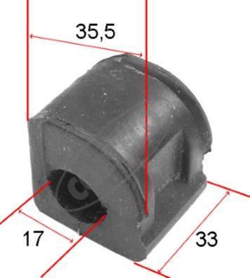 tuleja stabilizatora SEAT CORDOBA / IBIZA / INCA / TOLEDO / VW CADDY / CORRADO / GOLF II / III / DERBI