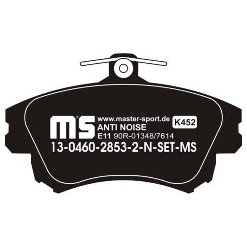 klocki hamulcowe MITSUBISHI CARISMA / COLT / SMART 4FOR / VOLVO S40 I / V40 I