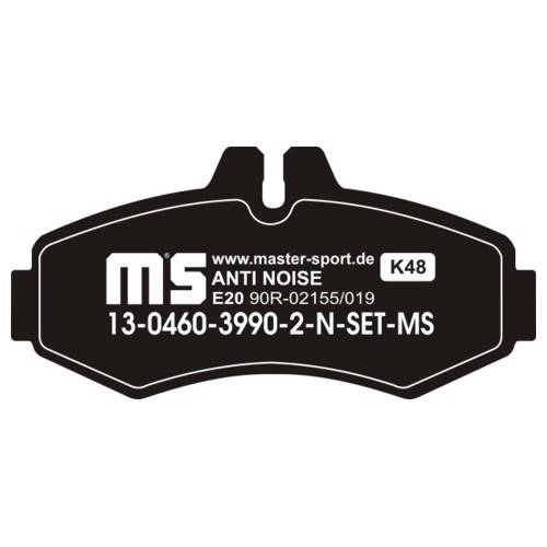 klocki hamulcowe tylne MERCEDES SPRINTER I / W461 / W463 / VW LT 28 - 46 roczniki 95 - 06r.