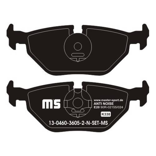 klocki hamulcowe tylne BMW E36 / E46 / Z3 / Z4 / MG ZT / ROVER 75 / SAAB 9 - 5