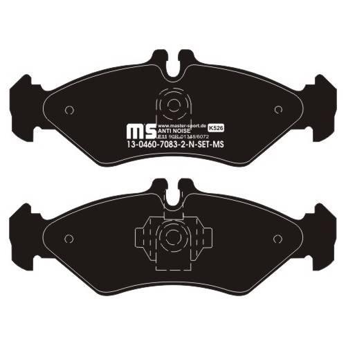 klocki hamulcowe tylne MERCEDES SPRINTER I / VW LT 35 - 45 roczniki 95 - 06r.